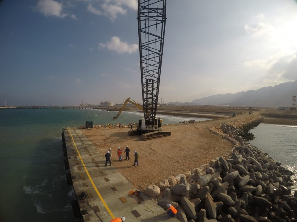 Jetty Construction